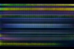 Предпосылка небольшого затруднения сломленного дисплея LCD Стоковая Фотография RF