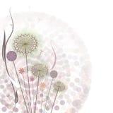 Предпосылка нежного вектора флористическая бесплатная иллюстрация