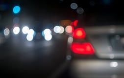 Предпосылка нерезкости города Стоковое Фото