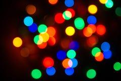 Предпосылка нерезкости светов цвета Стоковые Фото