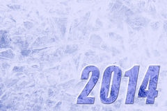 Предпосылка 2014 Нового Года Стоковая Фотография RF