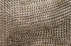 Предпосылка ногтей которая была бить молотком молотком в металлическое shi Стоковые Фотографии RF