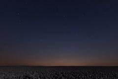 Предпосылка ночи ночное небо звёздное звезды ночного неба Стоковые Изображения