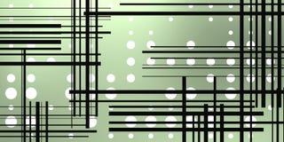 Предпосылка ночи с кругами и линиями бесплатная иллюстрация