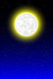 Предпосылка ночи с лунным светом бесплатная иллюстрация