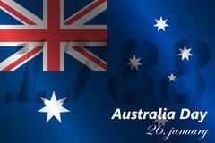 Предпосылка дня Австралии Стоковое Изображение