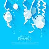 Предпосылка дня рождения Стоковая Фотография RF