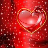 Предпосылка дня ` s валентинки. Стоковое Фото