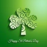 Предпосылка дня St Patricks Стоковые Фотографии RF