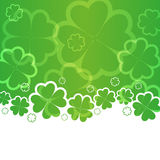 Предпосылка дня St Patricks Стоковое Изображение RF