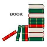 Предпосылка образования книги Стоковое фото RF