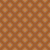 предпосылка объезжает померанцовый вектор квадратов орнамента Стоковое фото RF