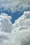Предпосылка облака близкая поднимающая вверх Стоковое Изображение