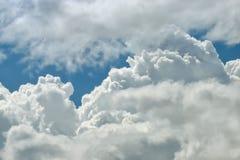 Предпосылка облака близкая поднимающая вверх Стоковые Изображения RF