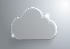 Предпосылка облака Стоковые Изображения RF
