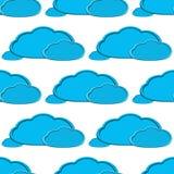 Предпосылка облака Стоковые Фото