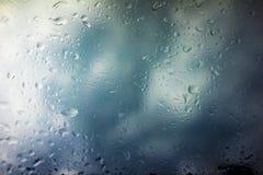 Предпосылка облаков шторма Стоковое Изображение RF