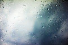 Предпосылка облаков шторма Стоковое Изображение