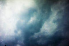 Предпосылка облаков шторма Стоковые Фото