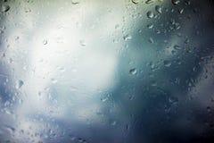 Предпосылка облаков шторма Стоковая Фотография RF