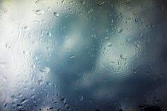 Предпосылка облаков шторма Стоковое фото RF