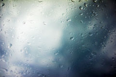 Предпосылка облаков шторма Стоковые Изображения RF