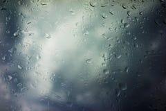 Предпосылка облаков шторма Стоковая Фотография
