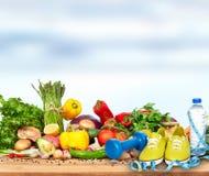 Предпосылка овощей Стоковое Фото