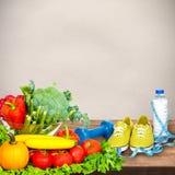 Предпосылка овощей Стоковые Изображения