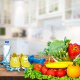 Предпосылка овощей Стоковое Изображение RF