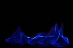 Предпосылка огня голубая светлая абстрактная Стоковое Фото