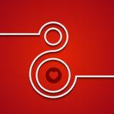 Предпосылка 8-ое марта вектора современная Стоковая Фотография RF