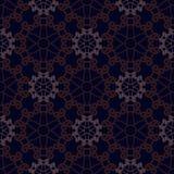 Предпосылка орнамента вектора безшовная голубая Стоковые Изображения RF