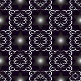 Предпосылка орнамента вектора безшовная голубая Стоковое Изображение