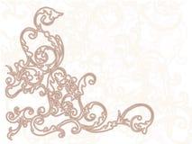 Предпосылка орнамента Стоковое Изображение RF