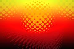 Предпосылка освещения диско Стоковое фото RF