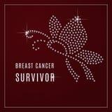Предпосылка осведомленности рака молочной железы Стоковое Изображение