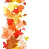предпосылка осени выходит безшовным также вектор иллюстрации притяжки corel бесплатная иллюстрация