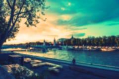Предпосылка осени Франции Стоковые Изображения