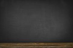 Предпосылка доски пустая Черная рамка классн классного с космосом экземпляра Стоковые Изображения