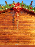Предпосылка доски рождества Стоковая Фотография RF