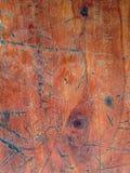 Предпосылка доски Grunge деревянная Стоковые Изображения RF