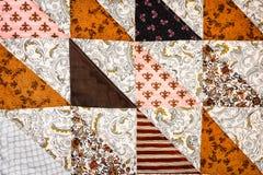 предпосылка лоскутного одеяла треугольника Полу-квадрата Стоковое фото RF