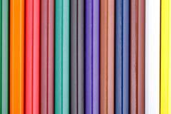 Предпосылка от красочного карандаша Стоковое Фото