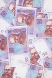 Предпосылка от кредиток Стоковые Фото