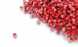 Предпосылка от кубов иллюстрация вектора