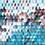 Предпосылка от кубов Стоковые Фото