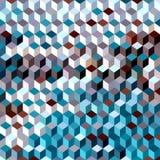 Предпосылка от кубов Стоковая Фотография RF