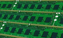 Предпосылка от модулей главной памяти компьютера Стоковое фото RF