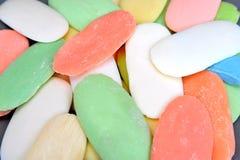 Предпосылка от обмылков торта мыла мыла туалета других цветов Стоковая Фотография RF